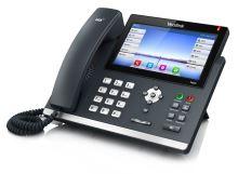 "Yealink SIP-T48G PoE, 7"" bar.LCD,29 prog.tl.,GigE"