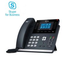 "Yealink SIP-T46S IP tel., PoE, 4,3"" bar. LCD, 27 prog.tl., GigE, Skype for Business"
