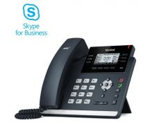 "Yealink SIP-T42S IP tel., PoE, 2,7"" 192x64 LCD, 15 prog.tl., GigE, Skype for Business"
