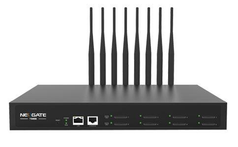 Yeastar NeoGate TG800 IP GSM Brána, 8xGSM port, 1xLAN