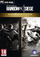 PC CD-Tom Clancy's Rainbow Six: Siege Gold Edition