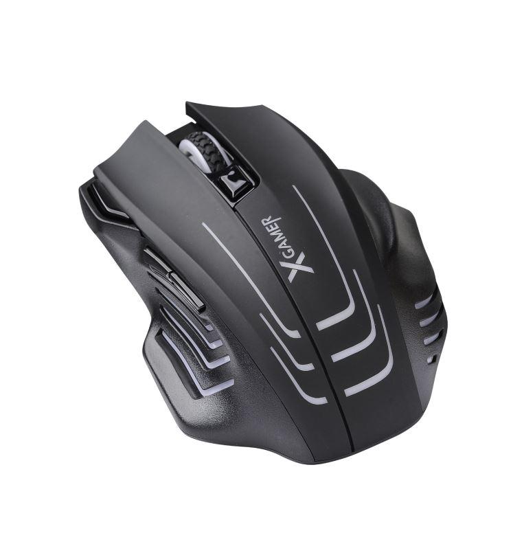 X-Gamer Mouse ML8000 RGB 6400 DPI, závaží