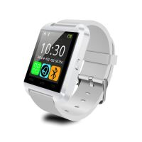 Smart hodinky U8 bílé