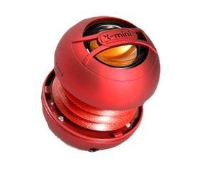 Přenosný mono reproduktor X-mini UNO keramický, červený