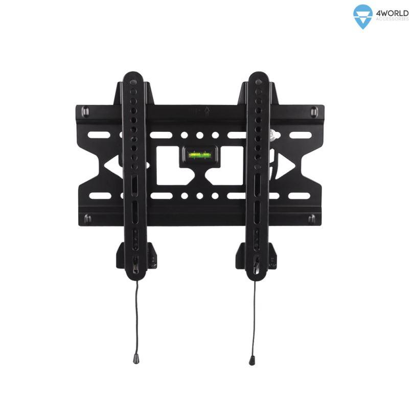 """4W Fixní držák pro LCD 15-43"""" SLIM nosn. 45kg BLK"""