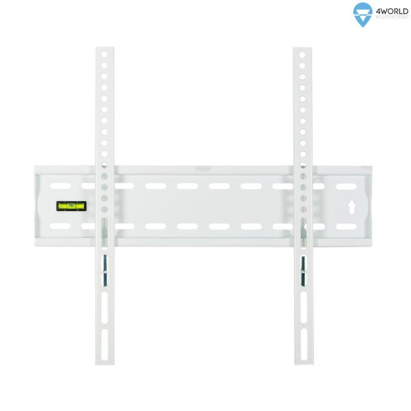 """4W Fixní držák pro LCD 20-75"""" SLIM nosn. 50kg WHT"""