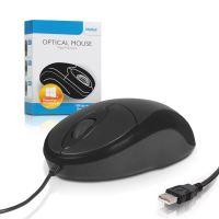 4World Myš optická Basic2 USB 1200dpi Black