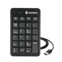 4World Numerická klávesnice USB