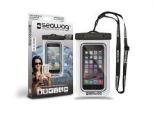 SEAWAG Voděodolné pouzdro pro telefon Bílá/Černá