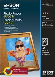 EPSON Photo Paper Glossy A4, 200g/m2, 20 listů