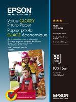 EPSON Value Glossy Photo Paper 10x15cm 50 sheet