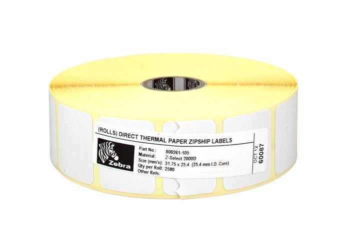 Z-Select 2000D  32 x 25 mm/2580 etiket/role