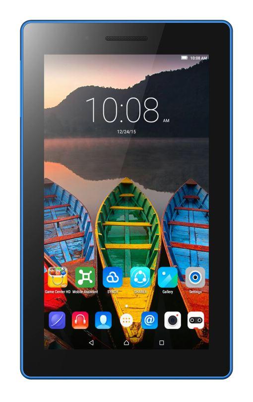 """Tablet Lenovo TAB3 7"""" 1,3 GHz 1G 8GB An 5.1. černý"""