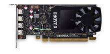ThinkStation Nvidia Quadro P1000 4GB GDDR5 Mini DP * 4 Graphics Card with HP Bracket