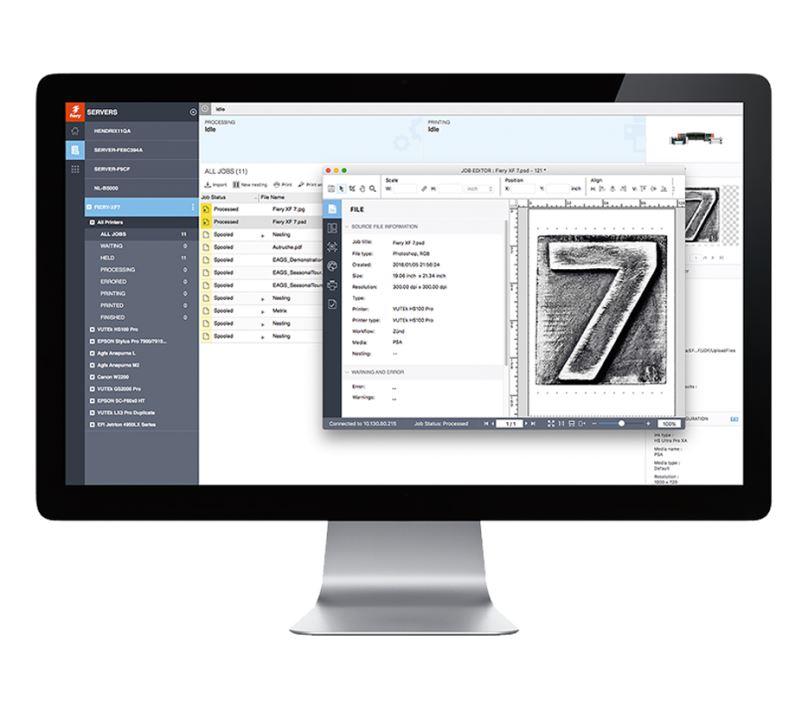 EFI Fiery XF 6.0 Mac/Win Production včetně 1 ročního SM&SA