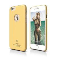 ELAGO S6 Slimfit, tenký plastový obal pro iPhone 6, žlutý