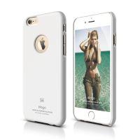 ELAGO S6 Slimfit, tenký plastový obal pro iPhone 6, bílý
