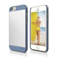 ELAGO S6 Outfit, tenký plastový obal pro iPhone 6, modro-stříbrný