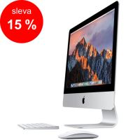 "APPLE iMac 21.5"" Retina 4K quad-core i5 3.1GHz/8GB/1TB/Intel Iris Pro Graphics 6200/OS X - Magic Keyboard CZ"