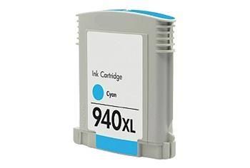 PRINTWELL C4907A (No:940XL) kompatibilní inkoustová kazeta, barva náplně azurová, 1400 stran