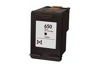 PRINTWELL CZ101AE (No:650 BK) kompatibilní inkoustová kazeta, barva náplně černá, 660 stran