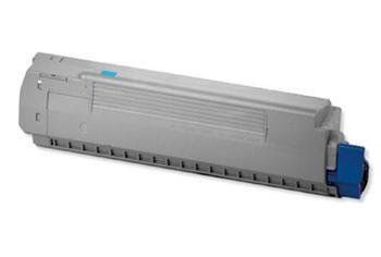 PRINTWELL 44059107 (OKI C810/C830; CYAN) kompatibilní tonerová kazeta, barva náplně azurová, 8000 stran