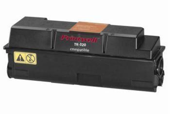 PRINTWELL TK-320 kompatibilní tonerová kazeta, barva náplně černá, 15000 stran
