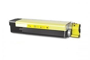 PRINTWELL 43865721 (OKI C5850) kompatibilní tonerová kazeta, barva náplně žlutá, 6000 stran