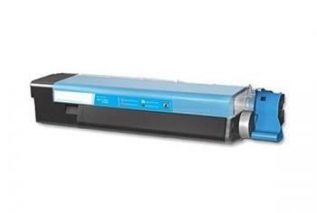 PRINTWELL 43865723 (OKI C5850) kompatibilní tonerová kazeta, barva náplně azurová, 6000 stran