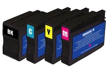 PRINTWELL CN053 (No.932XL) inkoustová kazeta PATENT OK, barva náplně černá, 1000 stran