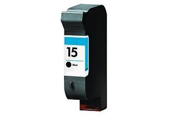 PRINTWELL 15 C6615DE kompatibilní inkoustová kazeta, barva náplně černá, 920 stran