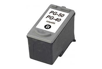 PRINTWELL PG-40 kompatibilní inkoustová kazeta, barva náplně černá, 510 stran