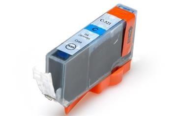 PRINTWELL CLI-521C+CHIP kompatibilní inkoustová kazeta