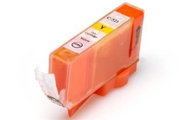 PRINTWELL CLI-521Y+CHIP kompatibilní inkoustová kazeta