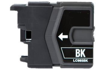 PRINTWELL LC985BK kompatibilní inkoustová kazeta, barva náplně černá, 300 stran
