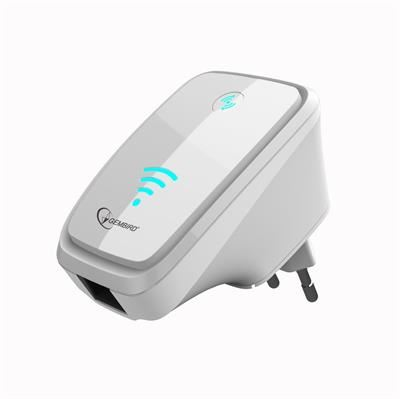 !! AKCE !! Eth WIFI repeater GEMBIRD WNP-RP-002 300 Mbps, bílý