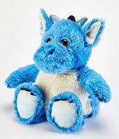 Hřejivý dráček modrý