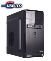 1stCOOL skříň STEP 2, micro ATX, AU, USB 3.0, bez zdroje, Black