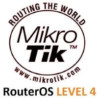 MikroTik RouterOS LEVEL 4 licence