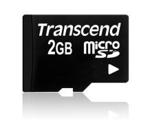 TRANSCEND Micro SD-Card 2GB (bez adaptéru)