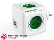 Allocacoc PowerCube Original USB Green
