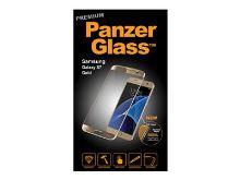 PanzerGlass Premium - Ochrana obrazovky - zlatá, křišťálově čistá - pro Samsung Galaxy S7