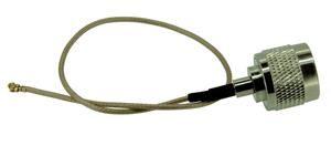 Pigtail 25cm RG178 U.FL - N male