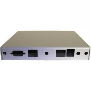 Montážní krabice pro ALIX.2, 2x LAN, USB, stříbrná