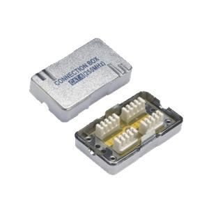 Spojka zářezová FTP Cat5e 8/8 RJ45 - plastová
