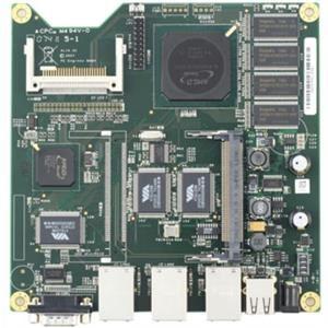 PC Engines ALIX.2D13 LX800, 256 MB, 3 LAN, 1 miniPCI, USB, RTC battery
