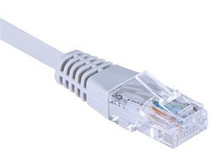 EuroLan Comfort patch kabel UTP, Cat6, AWG24, ROHS, 7,5m, šedý