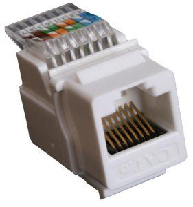 EuroLan keystone UTP Cat.6, bílý