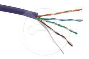 Solarix instalační kabel  CAT5E UTP LSOH 1000m/cívka SXKD-5E-UTP-LSOH drát
