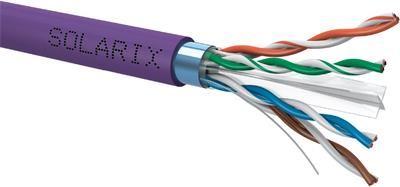 Solarix instalační kabel  CAT6 FTP LSOH 500m/cívka SXKD-6-FTP-LSOH